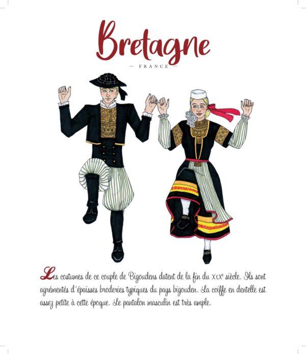 Je découvre et je colorie... les costumes traditionnels européens
